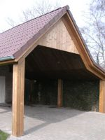 Carport Thermowood .